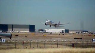 Japan Airlines 787-8 Dreamliner (JL11) departing DFW (JA840J) {DFW-NRT}
