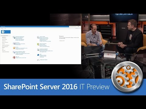 You Can Now Get Microsoft's SharePoint 2016 IT Preview