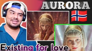 AURORA - Exist For Love reaction !! Indian Guy Reaction !!