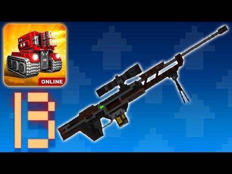Blocky Cars Online - Sniper Rifle Cobra (Gameplay Part 13)
