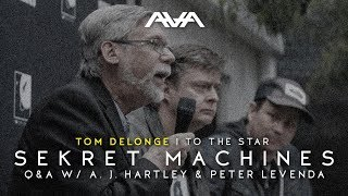 Tom DeLonge Q&A W/ A J Hartley & Peter Levenda 2017  Sekret Machines