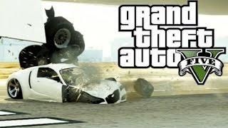 Best Airplane Take Off Crashes (GTA V)