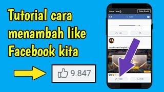 Cara Mendapatkan Banyak Auto Like Facebook