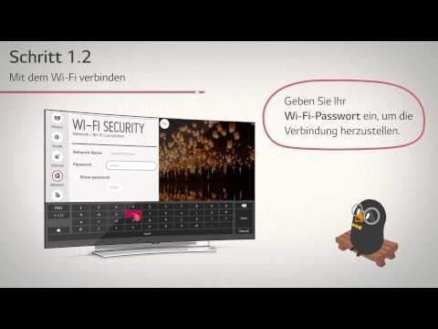 2015 LG TV Anleitung: Verbinden mit dem Internet