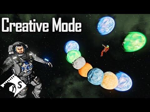 Creative Mode - Space Engineers Tutorial