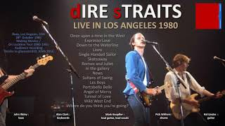 Dire Straits - 1980 - LIVE in Los Angeles [NEW VERSION, audio only]