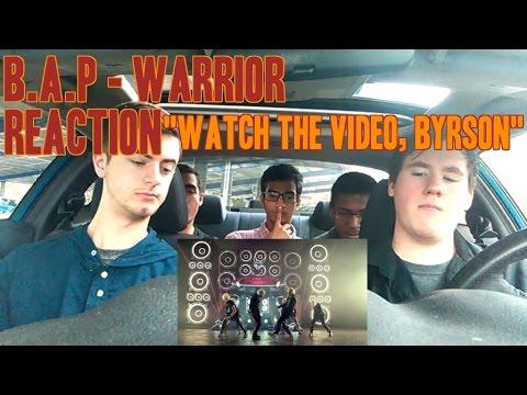 "B.A.P - Warrior MV Reaction (NON-KPop fan) ""Watch the Video Bryson"""