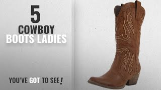 Top 5 Cowboy Boots Ladies [2018]: Very Volatile Womens Raspy Boot,Taupe,7.5 B US