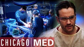 Window Cleaner Falls From 45 Stories | Chicago Med