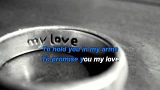 Westlife – My Love karaoke with lyrics