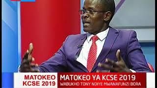 Uchanganuzi wa matokeo ya mtihani wa KCSE 2019 | MBIU YA KTN