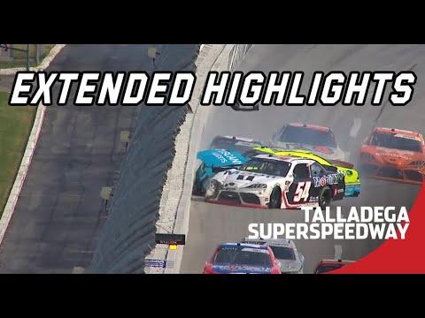 NASCAR タラデガ・スーパースピードウェイ レースハイライト動画