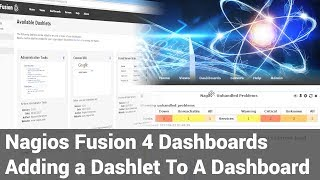 Adding A Dashlet to Dashboard - Fusion