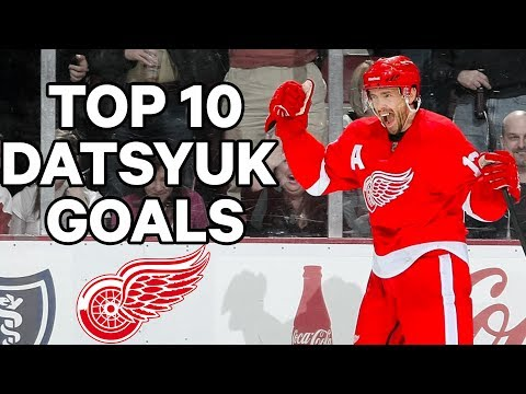 Top 10 Pavel Datsyuk Goals Of His Career