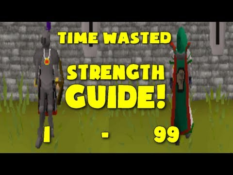 Video Runescape 2007: Time Wasted's 1-99 Strength Guide (1 Defence Pure)