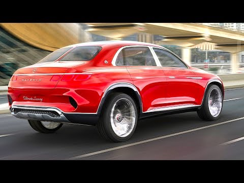 Maybach SUV Vision 2018 Electric Review World Premiere 2018 Vision Mercedes-Maybach Ultimate Luxury