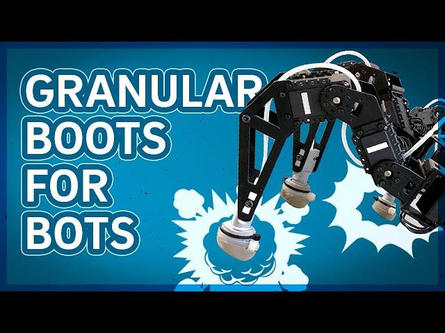 Кофе поможет роботам-шагоходам перемещаться по бездорожью гораздо быстрее