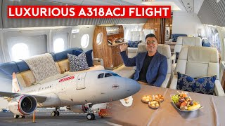 How the World's 1% Fly? Flying Luxurious Airbus Corporate Jet