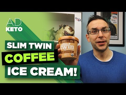 Slim Twin: Coffee Flavor | New low-carb ice cream!