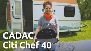 CADAC Citi Chef 40 Camping-Grill - Unboxing, Vorstellung und Zubehör
