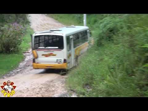 Veja a Dificuldade para andar do Busão da Mina do Vale na Estrada dos Ritas