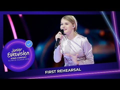 Ukraine 🇺🇦 - Sophia Ivanko - The Spirit Of Music - First Rehearsal - Junior Eurovision 2019