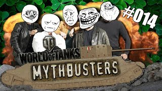 WoT || Mythbusters #014 || Can A T1 Push A Maus?!