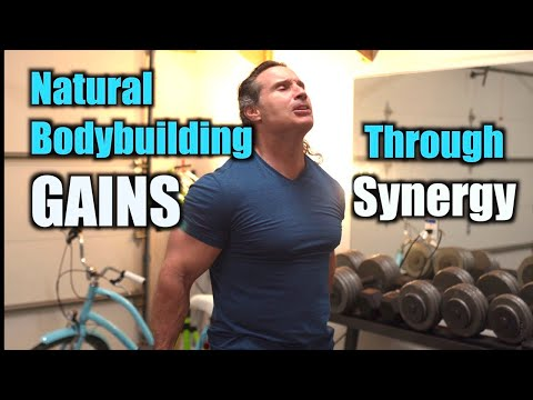 Natural Bodybuilding Muscle Gains with The Synergy Principle