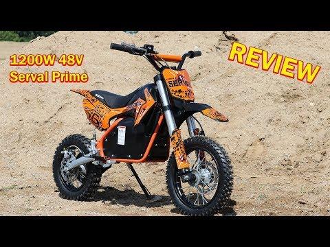 SERVAL PRIME 1200W 48V Electric Dirt Cross Bike - Full REVIEW