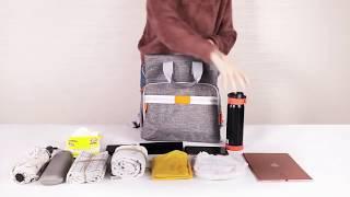Сумка - рюкзак для родителей от компании SunnyMama - видео