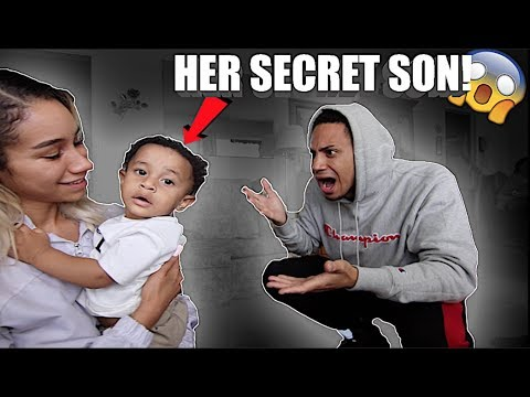 REVEALING HER SON FOR THE FIRST TIME! *AFTER 2 YEARS OF DATING*