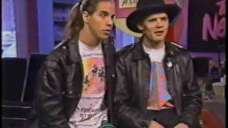 Red Hot Chili Peppers  - Interview Toronto 1989