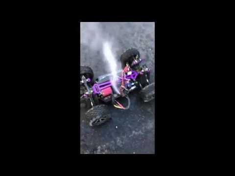 RC Car Catches On Fire