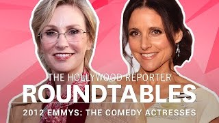 Julia Louis-Dreyfus, Jane Lynch and More Comedy Actresses on THR's Roundtable | Emmys 2012