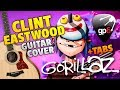 Gorillaz - Clint Eastwood (Fingerstyle Guitar Cover With Free Tabs)