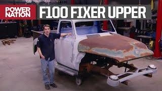 Начало восстановления разобранного Ford F100 1955 года - Truck Tech S1, E9