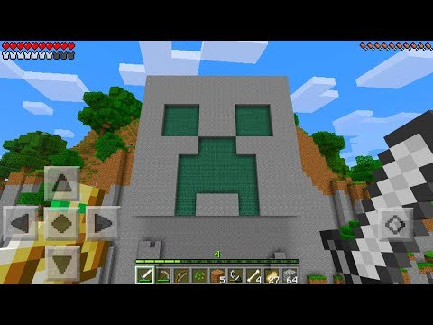 Do NOT Enter the Temple of the Creeper in Minecraft Pocket Edition