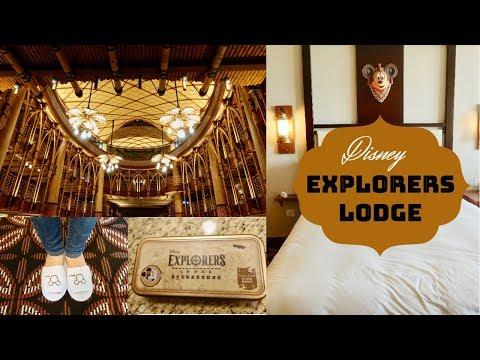 Explorers Lodge Resort Tour // Hong Kong Disneyland