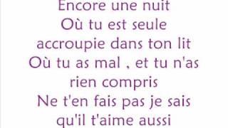 Marie Mai   Encore Une Nuit  Lyrics