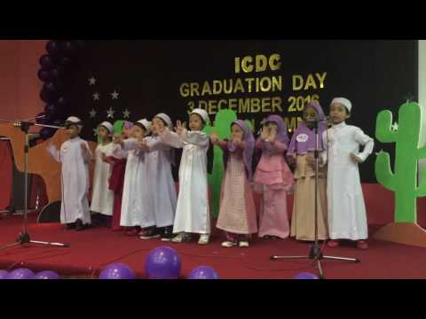 ICDC 2016 GraduationDay - performance by 6yo kids ICDC BJ