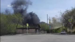 В районе Автовокзала вспыхнул частный дом | Kholo.pk