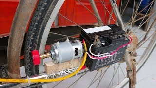 How to Make Electric Bike from Old Bike