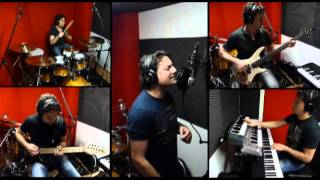 One Man Band - THE BATTLE RAGES ON (DEEP PURPLE) Cover by Adamo Troiani
