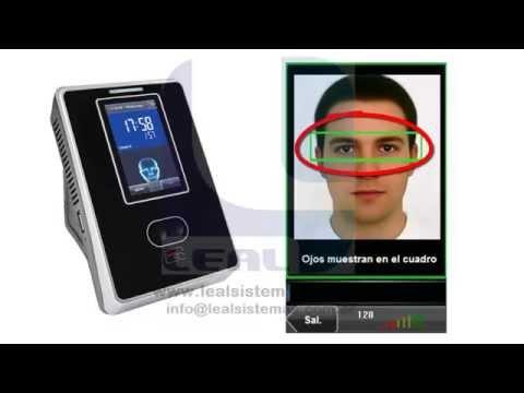 Configuración Básica y Alta de Rostros Equipo Control Asistencia con Lector de Reconocimiento Facial