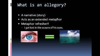 Symbolism vs  Allegory