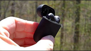 $17 Matte Black AirPod 2 Perfect Clone!! The TWS I9000 Black! ReName, ReMap, GPS And Upgraded Chip!