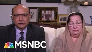 Capt. Khan's Parents Remember Their Son (Full Interview) | The Last Word | MSNBC thumbnail