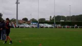 preview picture of video 'Tournefeuille Rugby Aster 98 - Match du 29 Septembre 2012 contre Stade Toulousain'