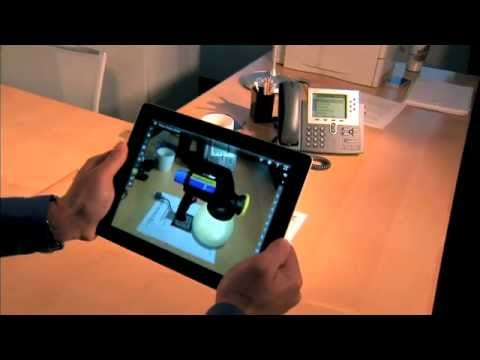 Réalité augmentée avec eDrawings pour iOS et Android