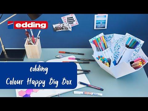 Unboxing - edding Colour Happy Big Box